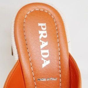 Prada Shoes - 💖HOST PIC!!💖 PRADA - Sea Fish Wedges